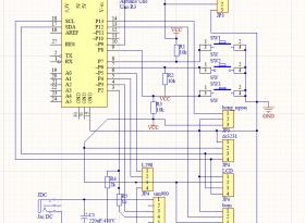 Mạch cho gà ăn tự động ứng dụng module sim900A, hiển thị app, tự động điều khiển